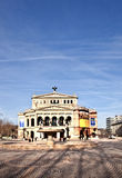 Alte Oper in Frankfurt-am-Main Royalty-vrije Stock Afbeeldingen