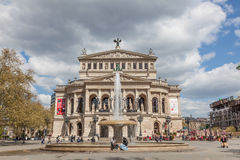 The Alte Oper in Frankfurt Main Stock Image