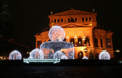 The Alte Oper in Frankfurt Stock Photo
