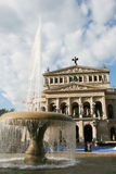 The Alte Oper Royalty Free Stock Photography