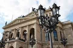 The Alte Oper Royalty Free Stock Photos