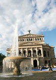 The Alte Oper Royalty Free Stock Photo