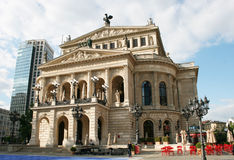 The Alte Oper Stock Photos