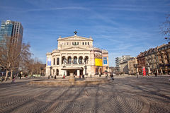 Alte Oper in Frankfurt am Main Stock Photos