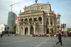 Alte Oper Frankfurt Stock Photo