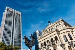 Alte Operation Frankfurt Lizenzfreies Stockfoto