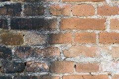 Alte orange Backsteinmauerbeschaffenheiten und -hintergründe Lizenzfreies Stockfoto