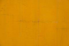 Alte orange gebrochene Betonmauer Beschaffenheit Stockfotos