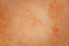 Alte orange Wand stockfoto