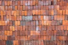Alte orange Ziegelsteine Lizenzfreies Stockbild