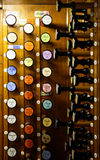 Alte Organ-Musik Lizenzfreies Stockfoto