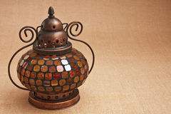 Alte orientalische Lampe Stockbild