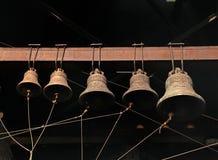 Alte orthodoxe Glockennahaufnahme am Kloster Lizenzfreie Stockfotografie