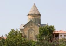Alte orthodoxe Kathedrale in Mtskheta nahe Tiflis, die Republik Georgien Stockbild