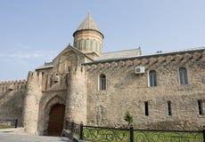 Alte orthodoxe Kathedrale in Mtskheta nahe Tiflis, die Republik Georgien Stockbilder