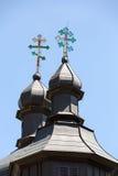 Alte orthodoxe Kirche in Bartne Lizenzfreie Stockfotos