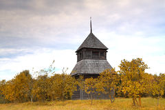 Alte orthodoxe Kirche in der Mitte von Europa Lizenzfreies Stockbild