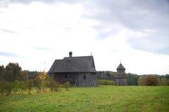 Alte orthodoxe Kirche in der Mitte von Europa Lizenzfreie Stockfotografie
