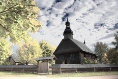 Alte orthodoxe Kirche in der Mitte von Europa Lizenzfreie Stockfotos