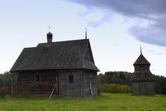 Alte orthodoxe Kirche in der Mitte von Europa Lizenzfreie Stockbilder