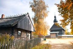 Alte orthodoxe Kirche in der Mitte von Europa Stockfotografie