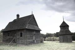 Alte orthodoxe Kirche in der Mitte von Europa Stockbilder