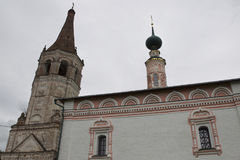 Alte orthodoxe Kirche, Suzdal, Architektur, Russland Stockbild