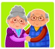 Alte Paare Lizenzfreies Stockfoto