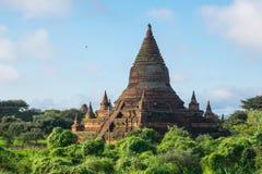 Alte Pagode in alter Stadt Bagan, Mandalay, Myanmar Lizenzfreies Stockbild