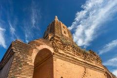 Alte Pagode in alter Stadt Bagan, Mandalay-Region, Myanmar Lizenzfreie Stockfotos