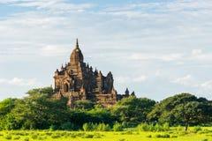 Alte Pagode in alter Stadt Bagan, Mandalay-Region, Myanmar Stockfotos