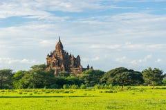 Alte Pagode in alter Stadt Bagan, Mandalay-Region, Myanmar Lizenzfreie Stockbilder