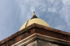 alte Pagode in AYUTHAYA THAILAND Lizenzfreie Stockfotos
