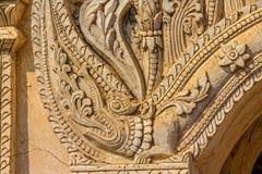 Alte Pagode in Bagan Stockbild