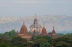 Alte Pagode in Bagan Stockfoto