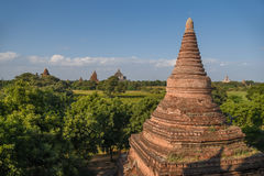 Alte Pagode in Bagan, Myanmar Stockbild