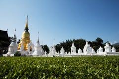 Alte Pagode in Chiang Mai, Thailand Lizenzfreies Stockfoto