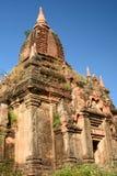 Alte Pagode in den Ruinen Bagan Mandalay-Region myanmar Lizenzfreie Stockbilder