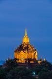 Alte Pagode Gawdaw Palin, Bagan (Heide) Lizenzfreies Stockbild