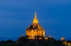 Alte Pagode Gawdaw Palin, Bagan (Heide) Lizenzfreie Stockfotos
