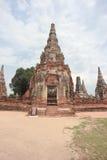 Alte Pagode in historischem Park Ayutthaya Lizenzfreie Stockfotos
