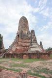Alte Pagode in historischem Park Ayutthaya Lizenzfreie Stockbilder