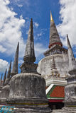 Alte Pagode am nakornsri thammarat Thailand Lizenzfreie Stockfotografie