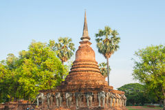 Alte Pagode in Thailand Stockfoto