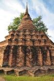 Alte Pagode in Thailand Lizenzfreies Stockbild