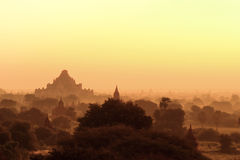 Alte Pagoden Bagan auf Myanmar Stockfoto