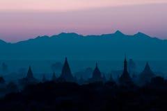 Alte Pagoden Bagan auf Myanmar Lizenzfreie Stockbilder