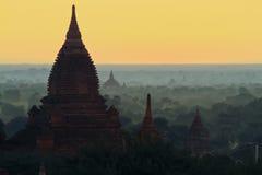 Alte Pagoden Bagan auf Myanmar Lizenzfreie Stockfotografie