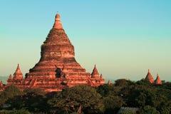 Alte Pagoden Bagan auf Myanmar Stockfotos