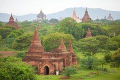 Alte Pagoden in Bagan Mandalay, Myanmar Lizenzfreie Stockbilder